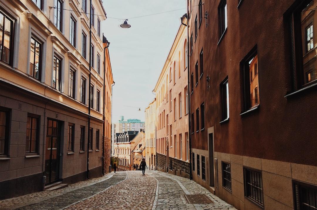 Caminando por Estocolmo