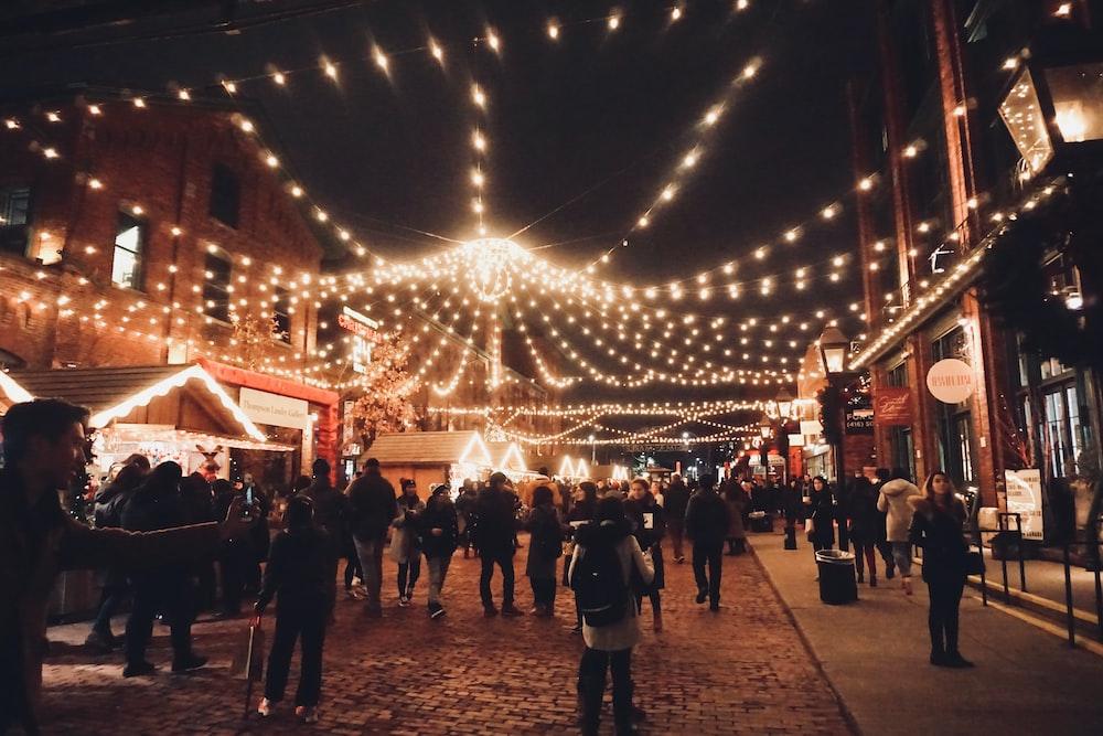 Christmas In Toronto Canada.Toronto Christmas Market Toronto Canada Pictures Download