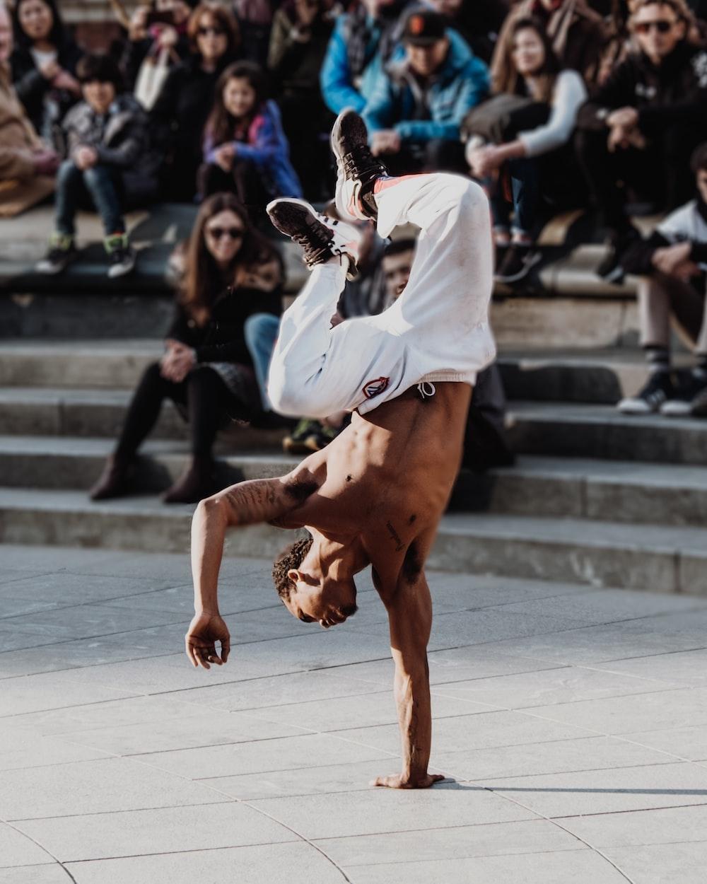 man break dance