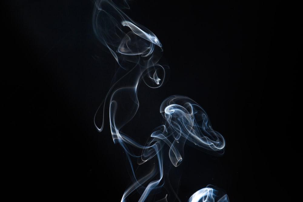 photo of smoke illustration