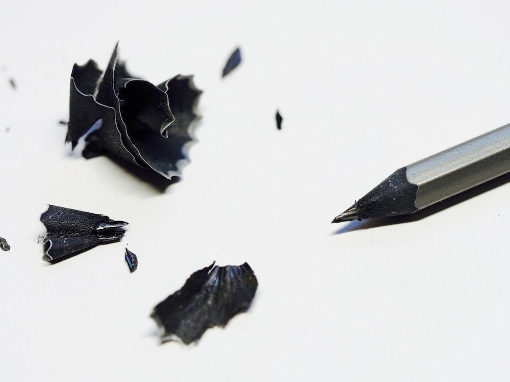 gray pencil