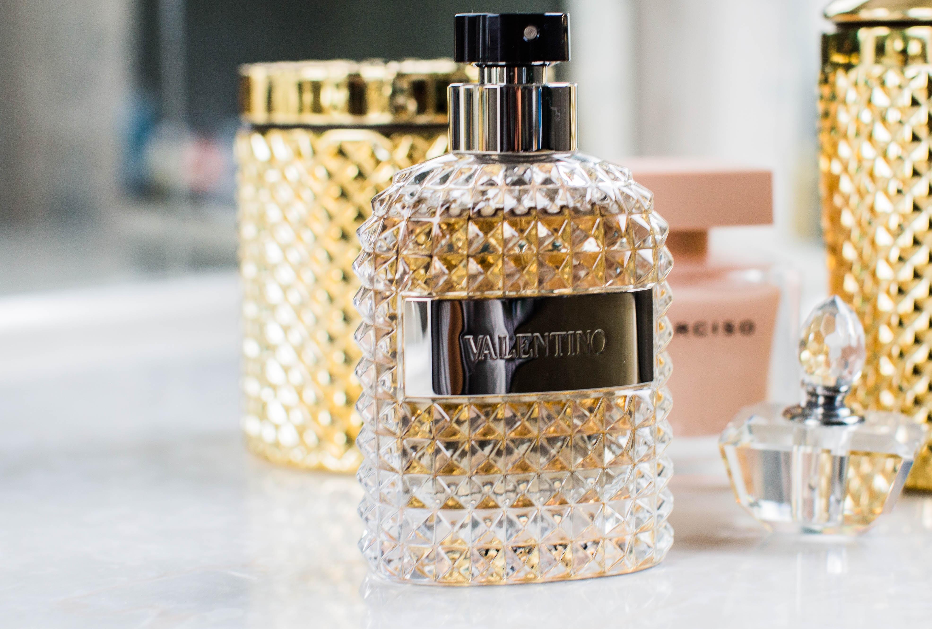 Valentino fragrance bottle