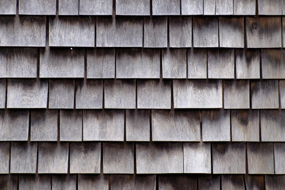 brown roof tiles