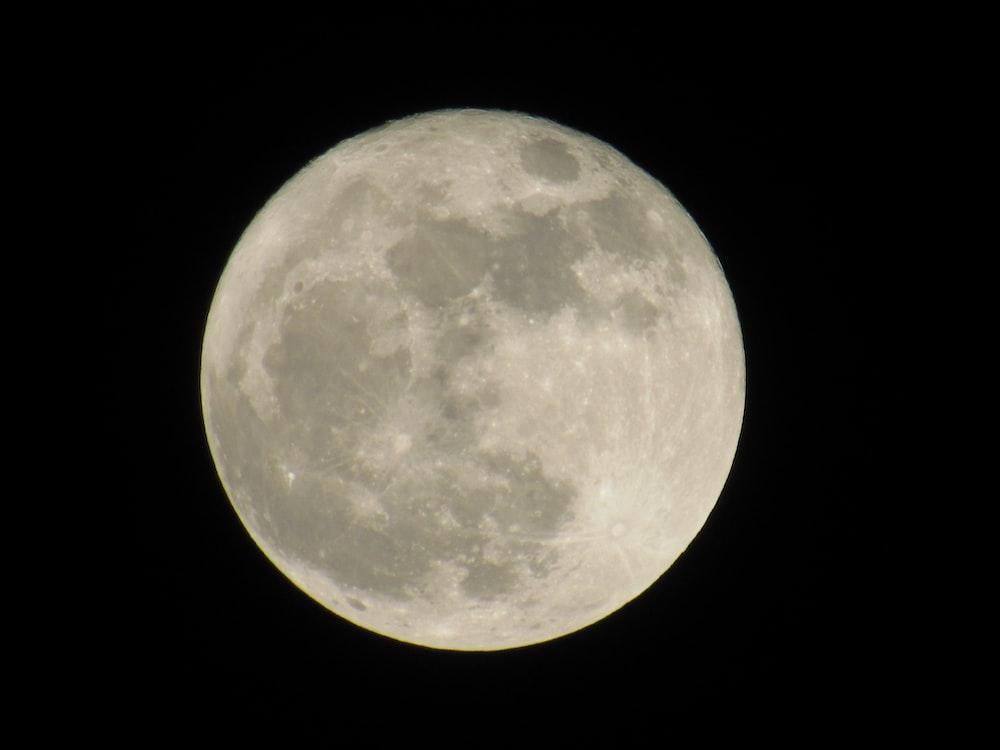 white moon