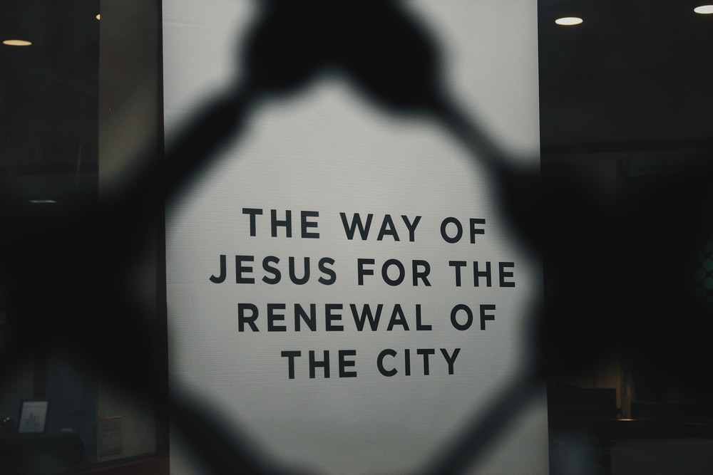 the way of Jesus for the renewal of the city