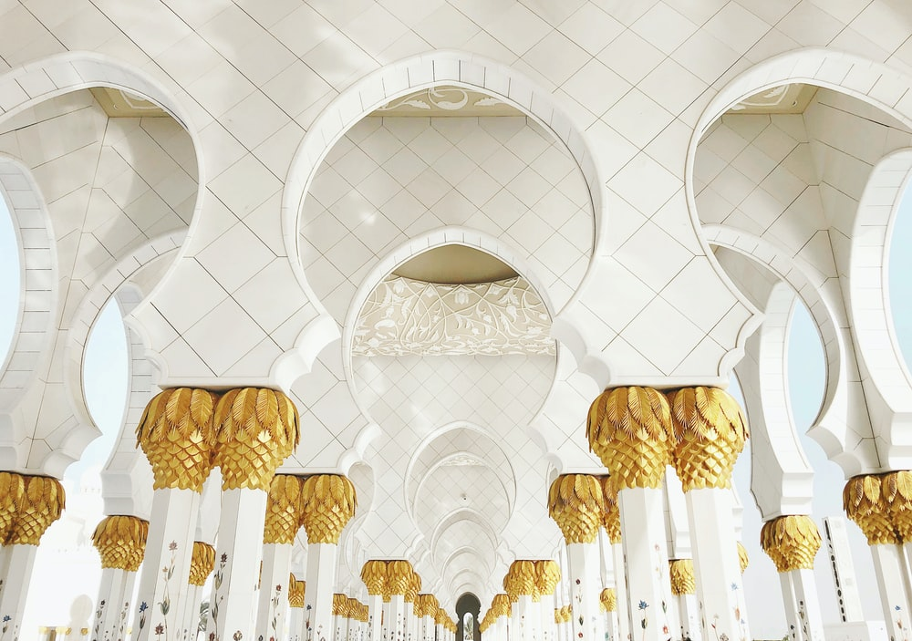 white and gold structure during daytime