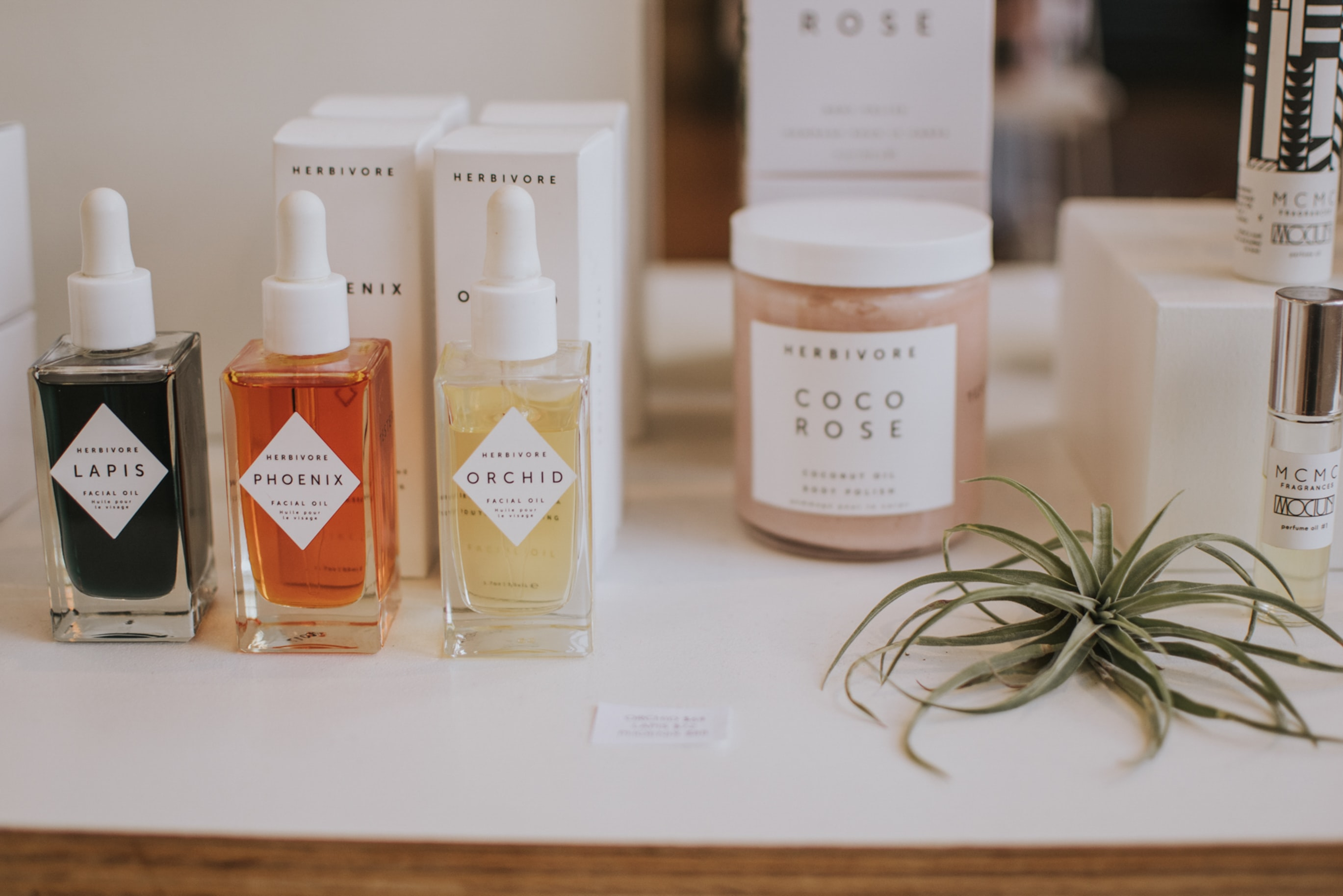 assorted-fragrance bottle collection