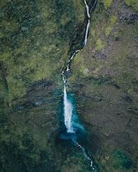 running water photography