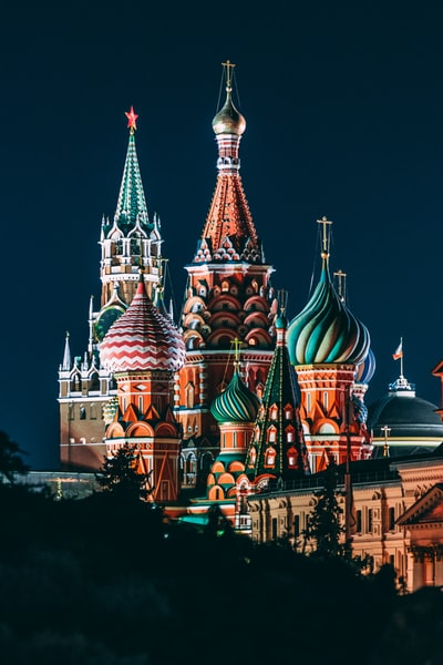 Saint Basil Cathedral, Russia