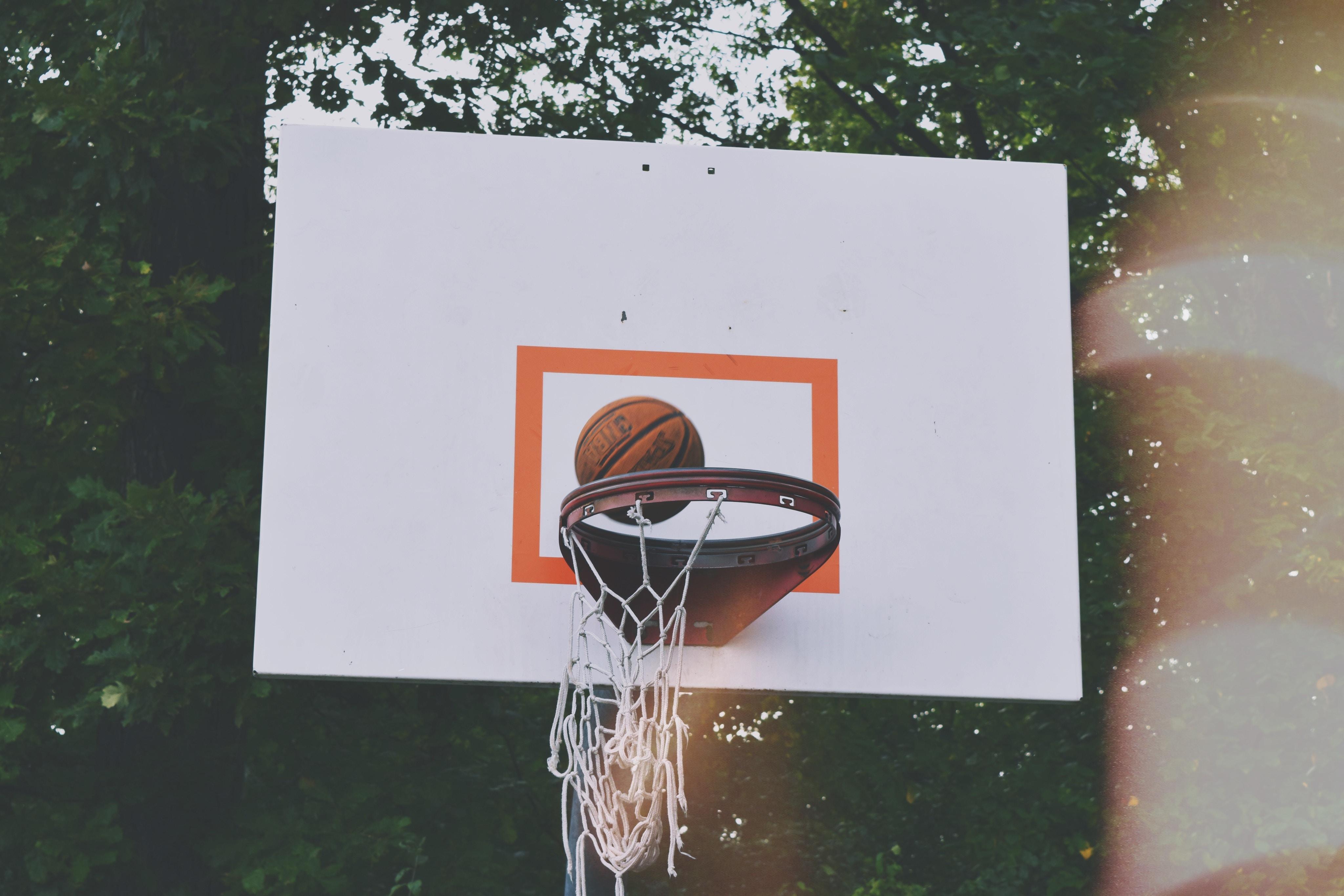 baseball ball on top of ring