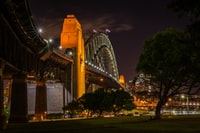 concrete footbridge photography