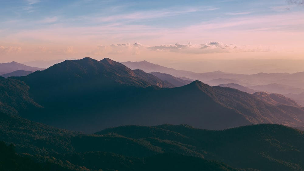 green and brown mountain landscape photo