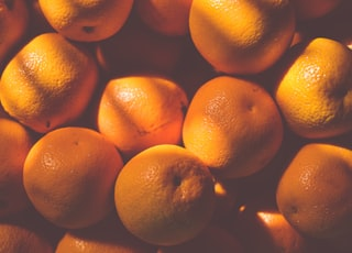 orange fruit lot