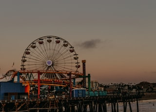 Santa Monica Pie, California