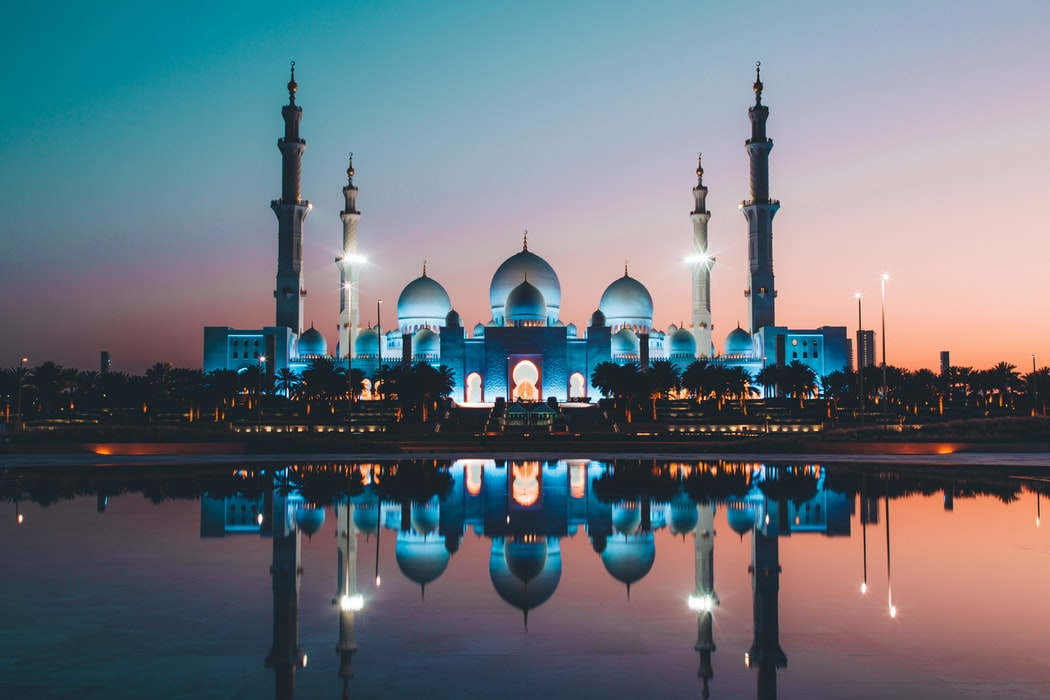 shaik zayed mosque abu dhabi