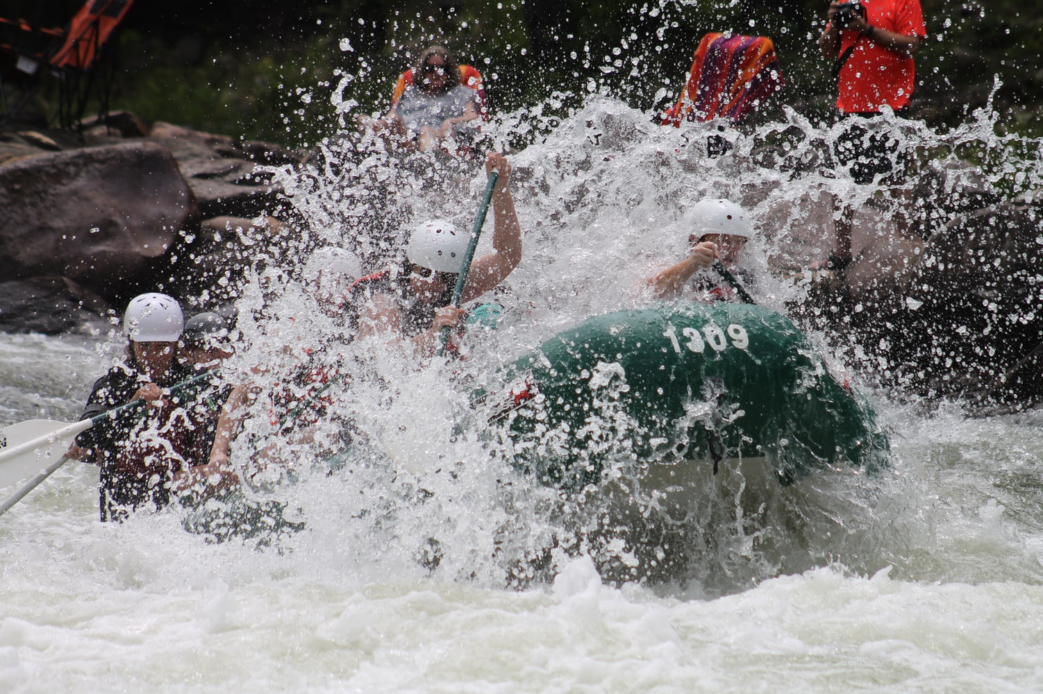 River Rafting- Top adventure activity in Thailand.