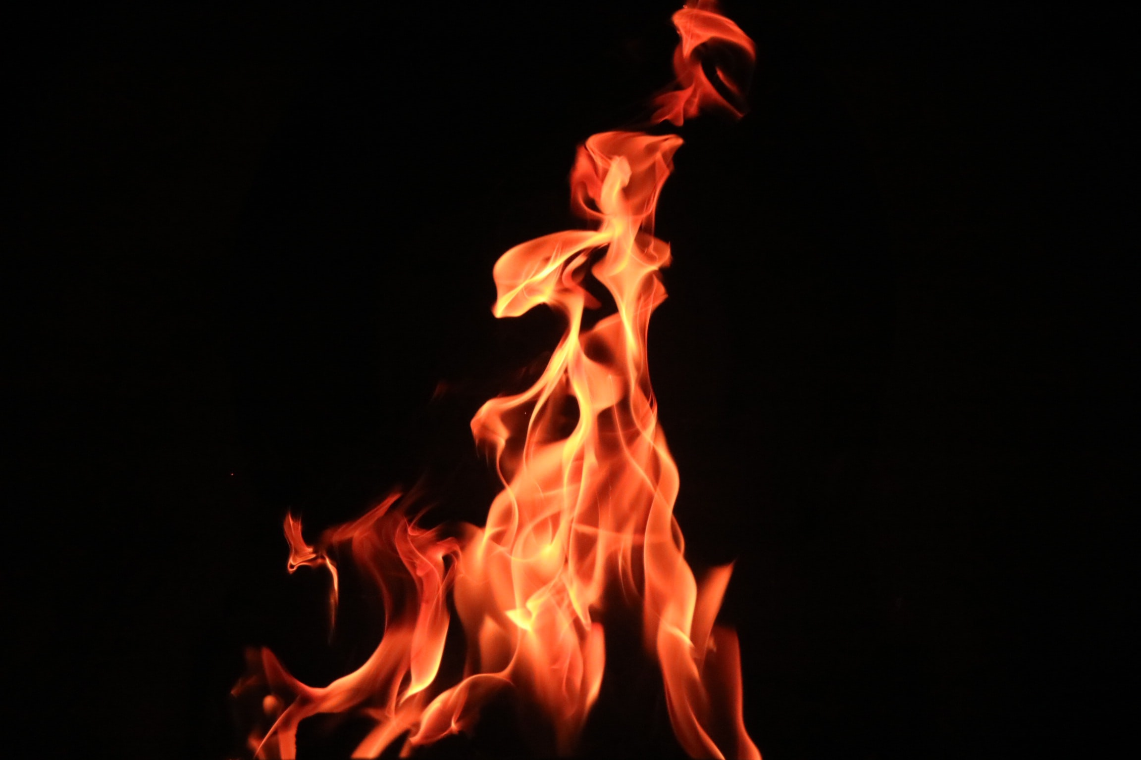 time lapse photography of fire