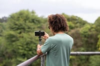 photography of man taking a selfie