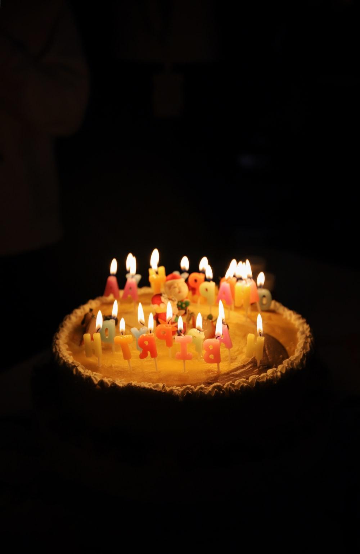 White Icing Happy Birthday Cake Photo Free Birthday Cake