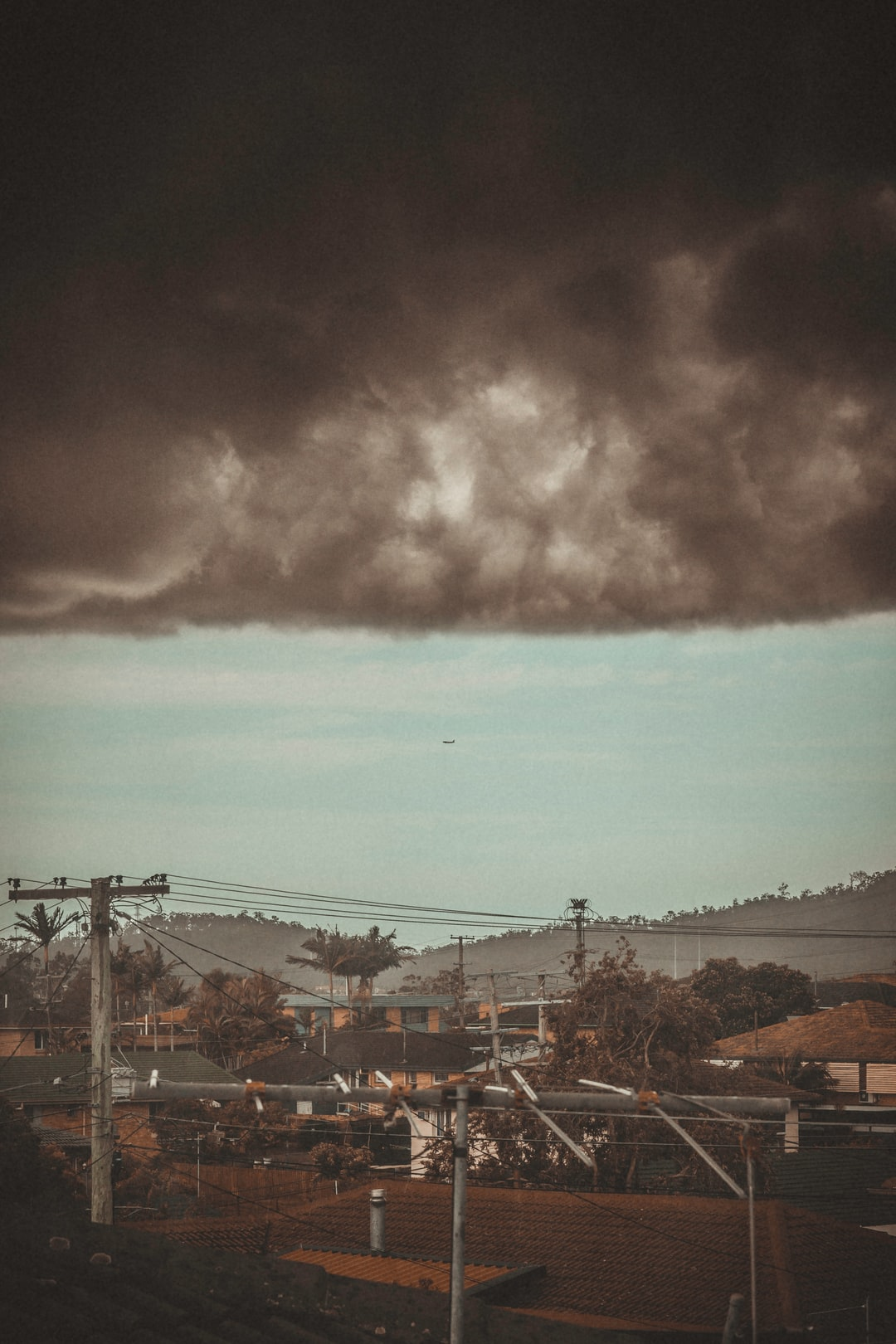 How is it that every time a crazy cool storm cloud comes along a plane just happens to situate itself perfectly? Always gets me thinking that the people in that plane probably have no idea what is above them, living in such blissful ignorance to the storm that surrounds them. #ametaphorforsomething