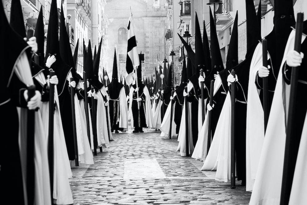 Nazarenos, Spanish Holy Week Procession