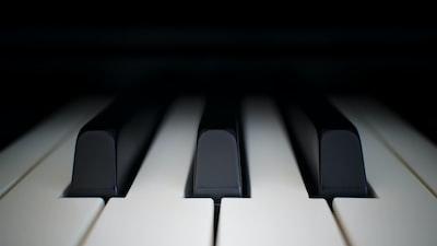 piano keys piano zoom background