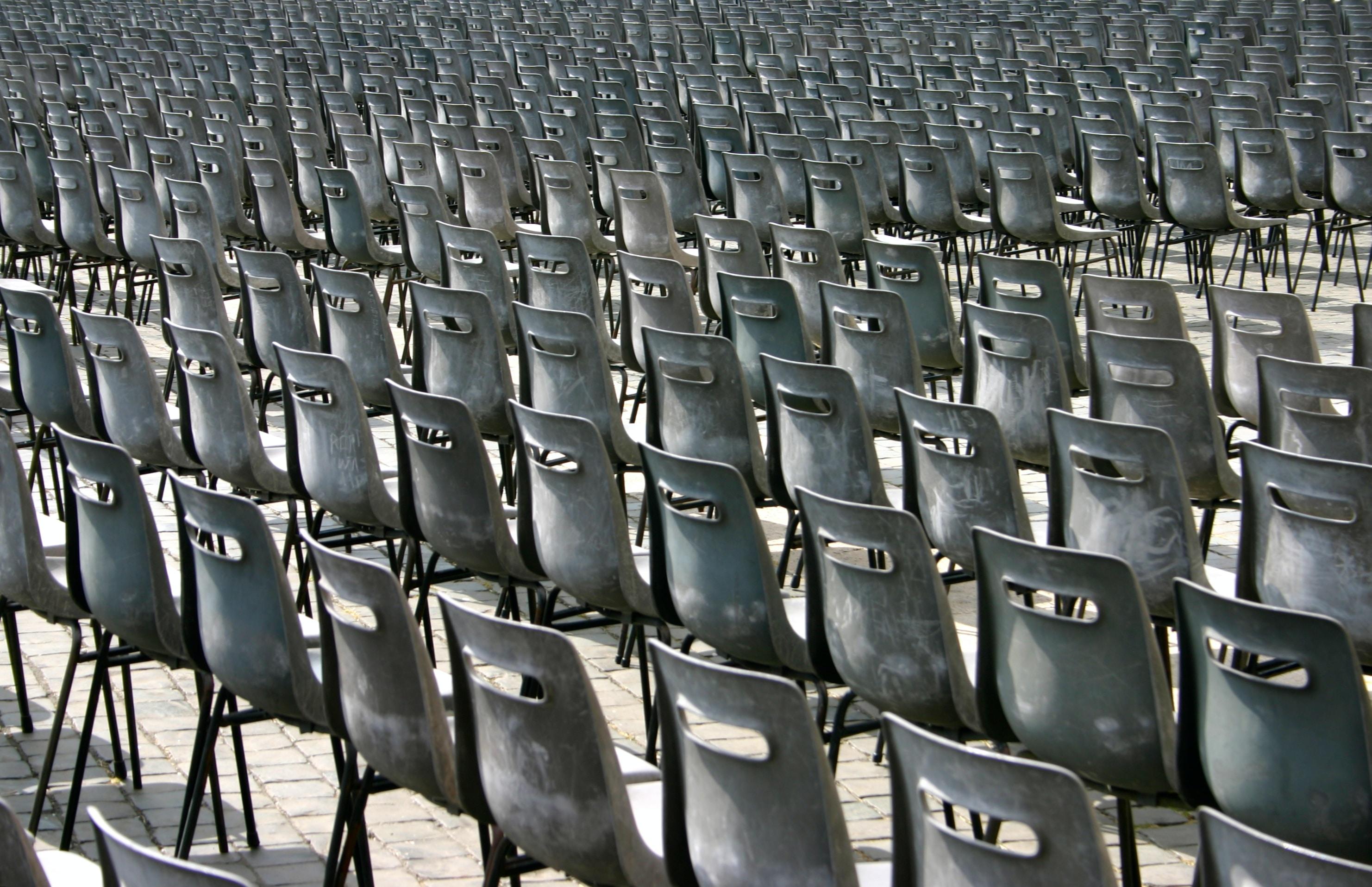 gray chair lot