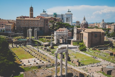 Ruins of old Rome