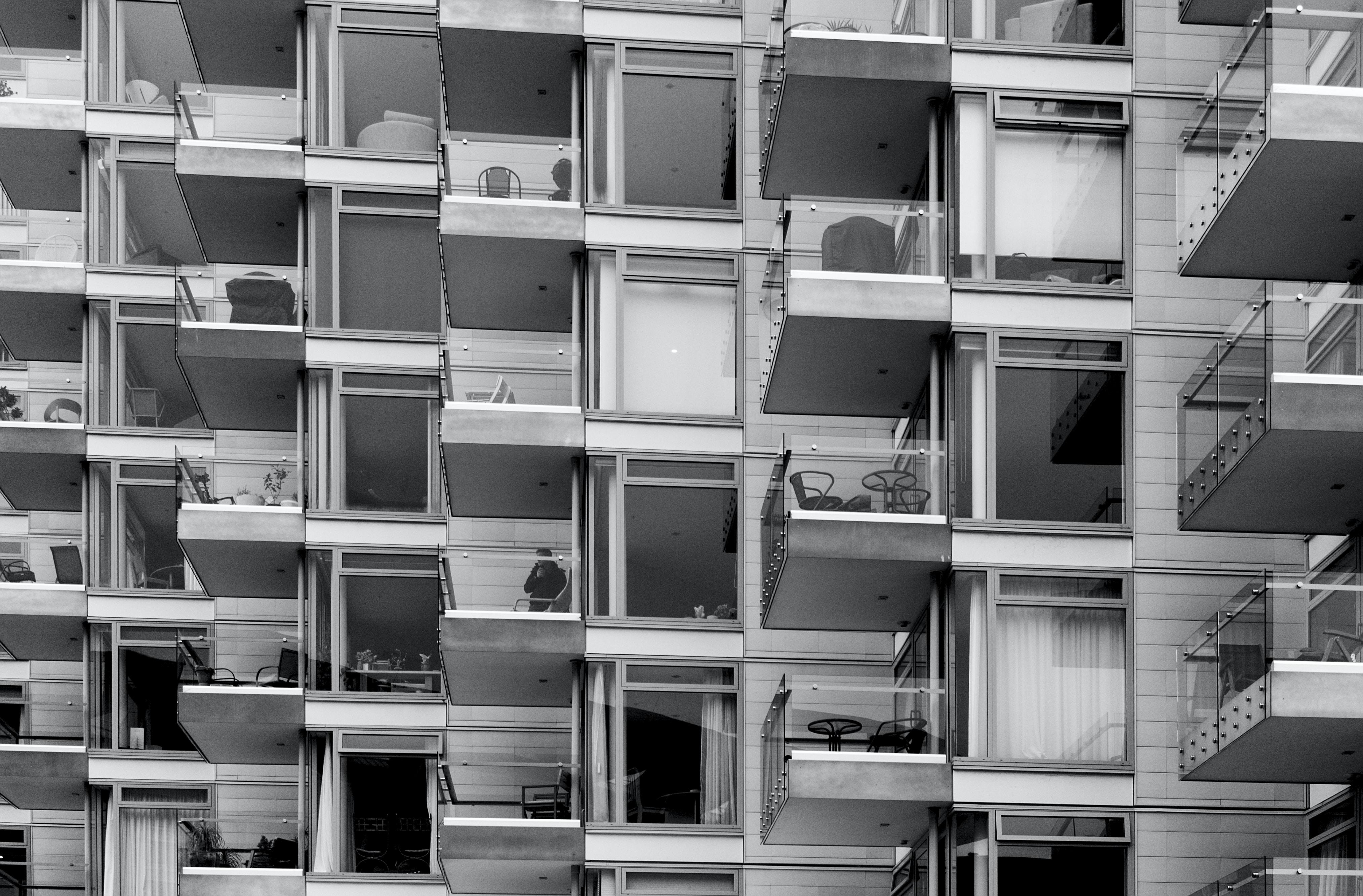 photo of building balcony