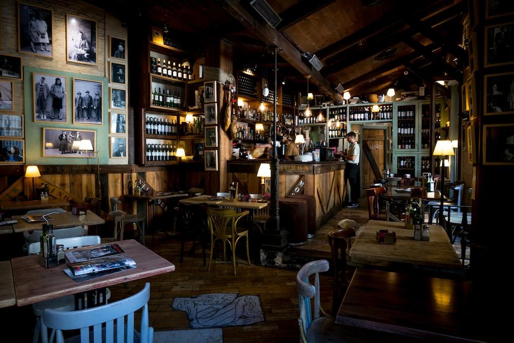 bar interior view