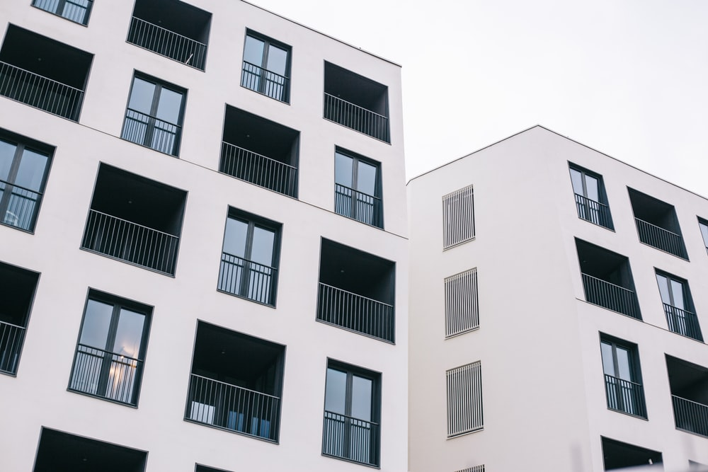 white concrete building at daytime