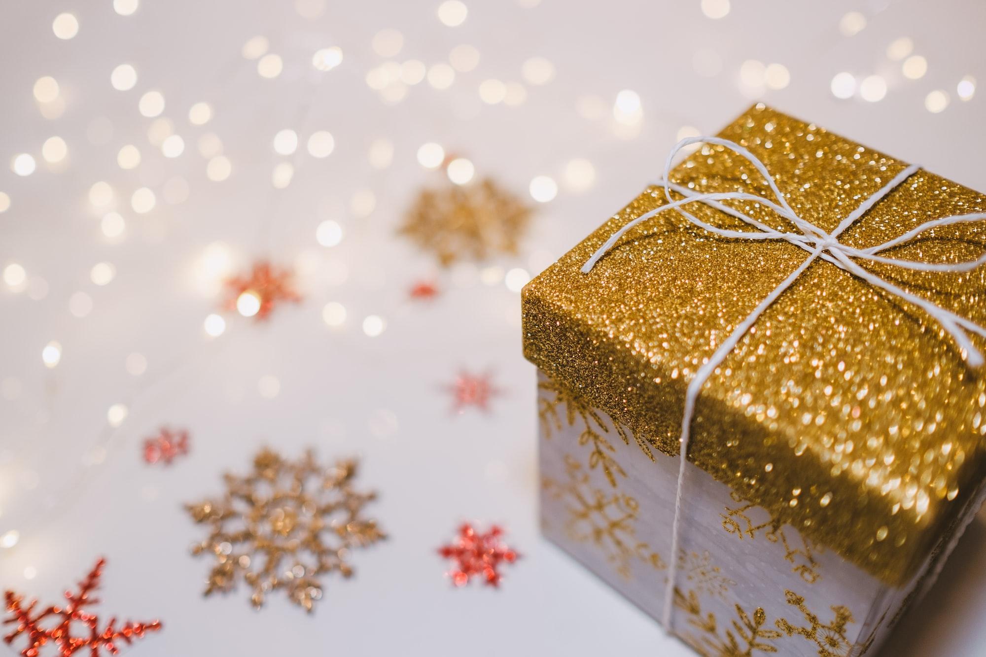 seu primeiro presente de Natal
