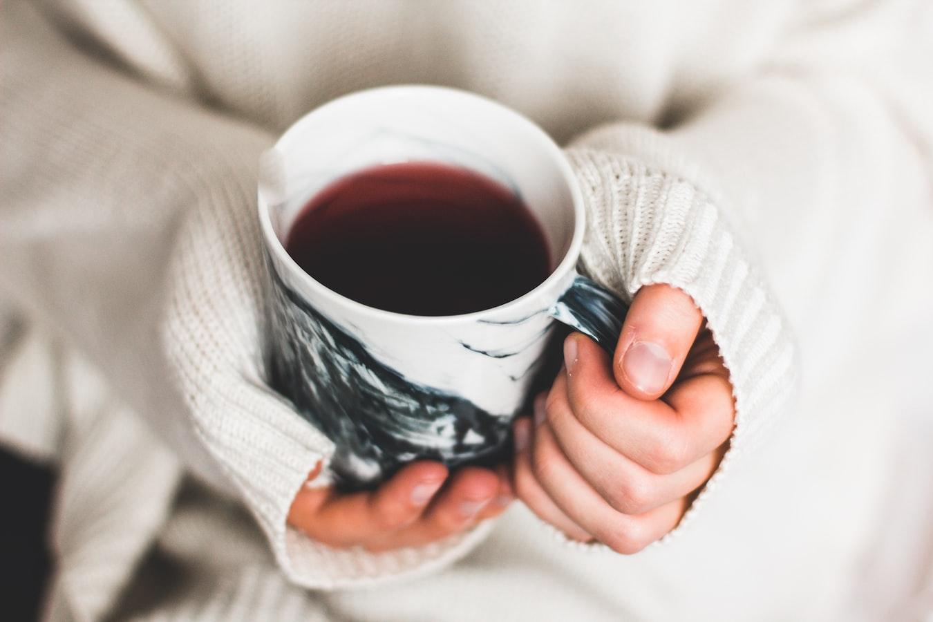 como fazer chá preto