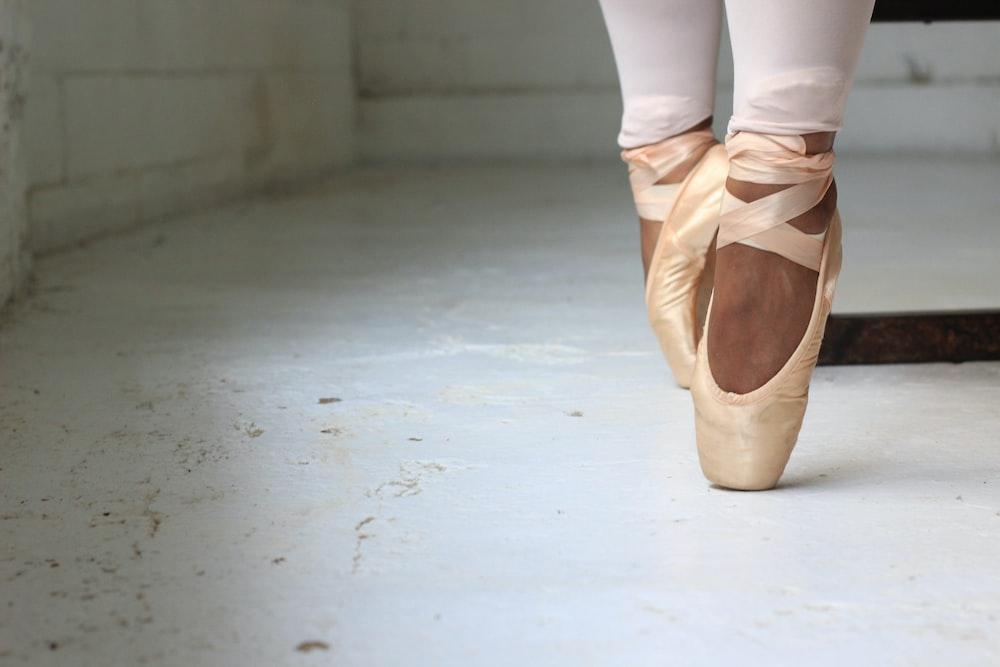 osoba vykonávajúca balet