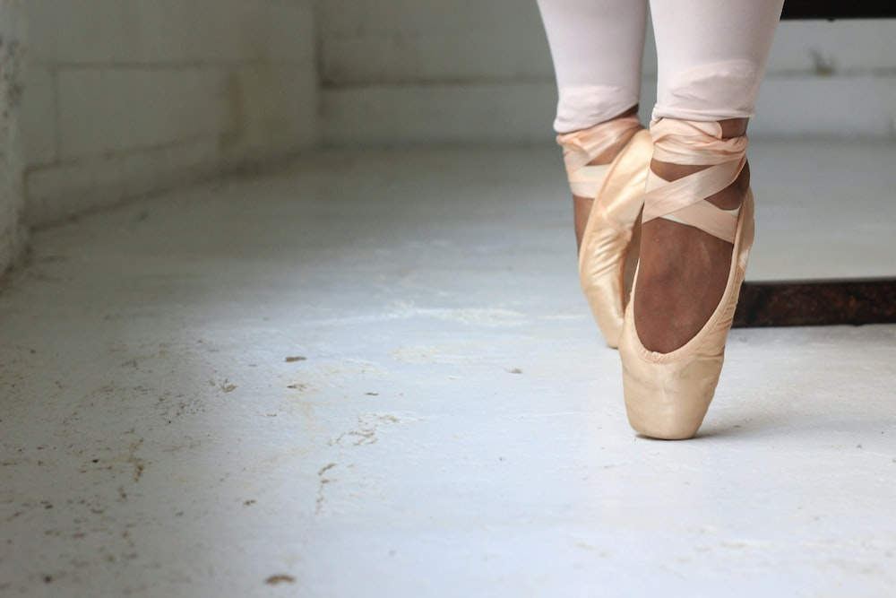 person performing ballet
