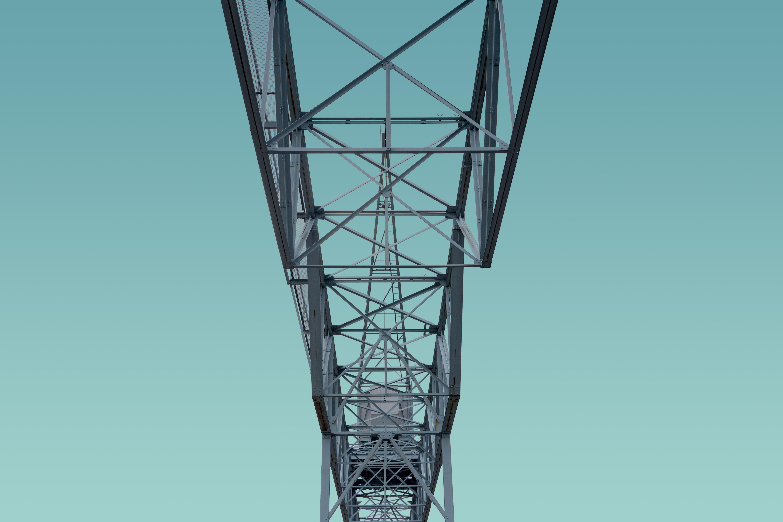tower metal frame photo