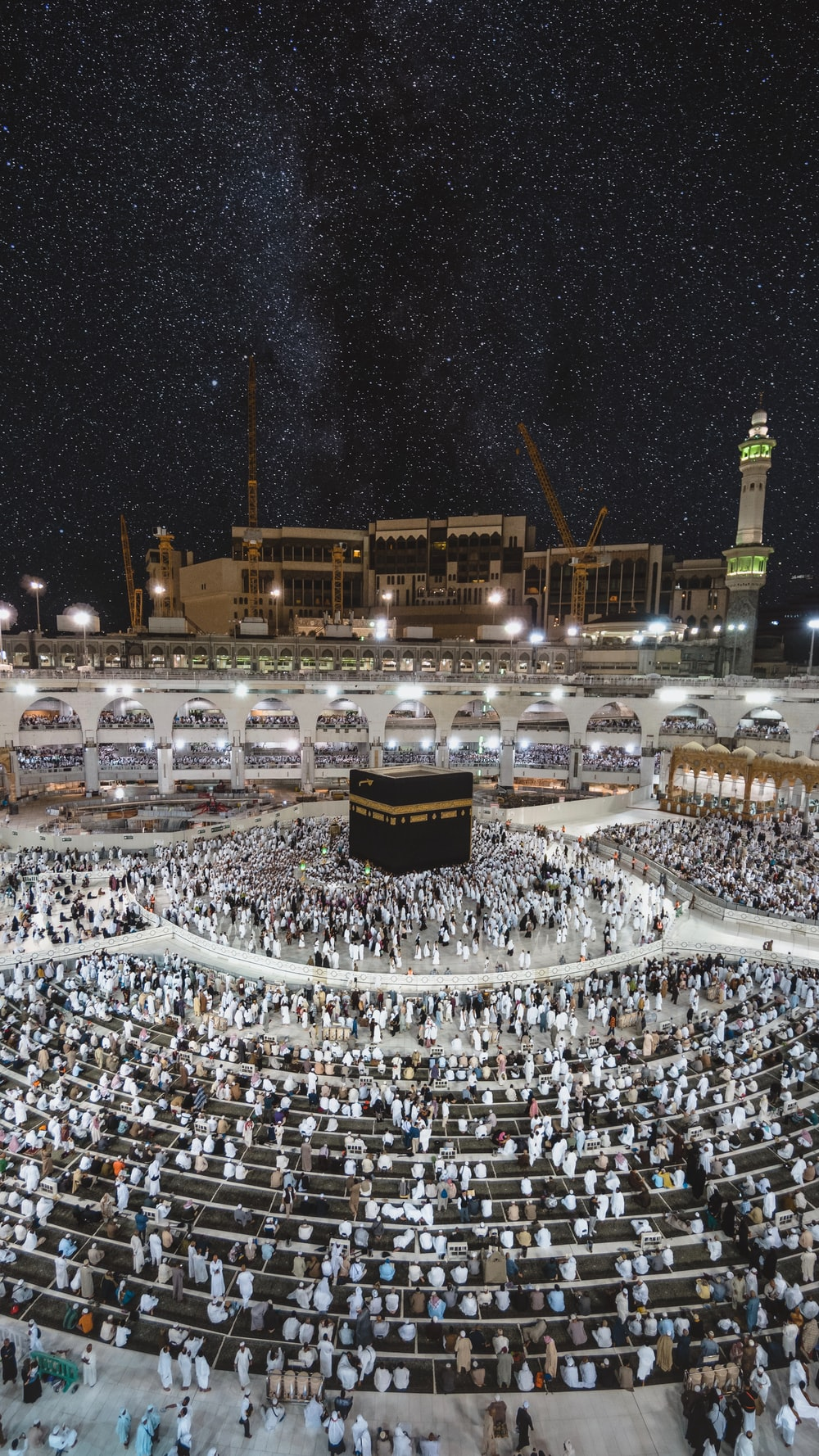 Kaaba praying ground