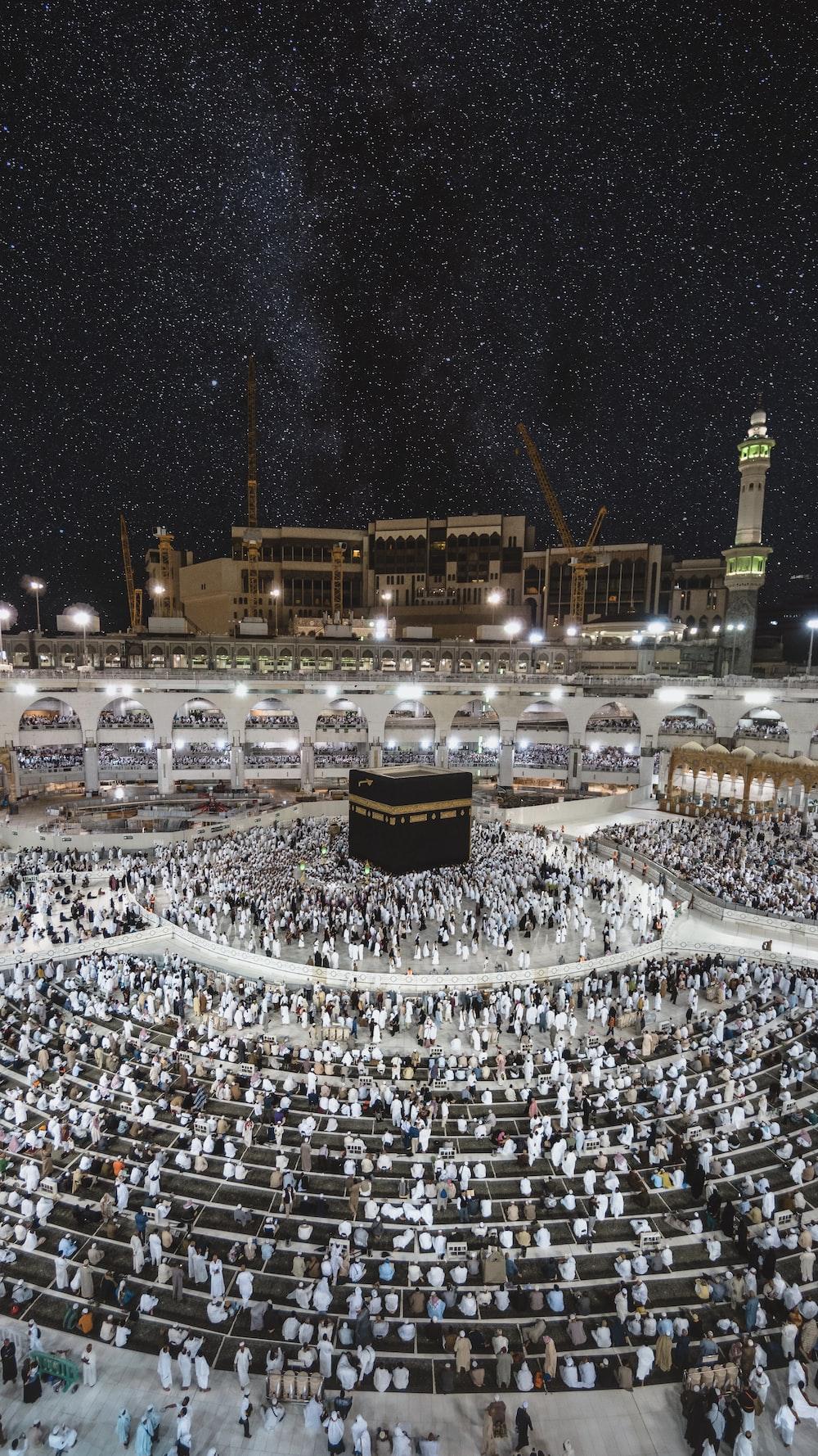 Kaaba praying ground