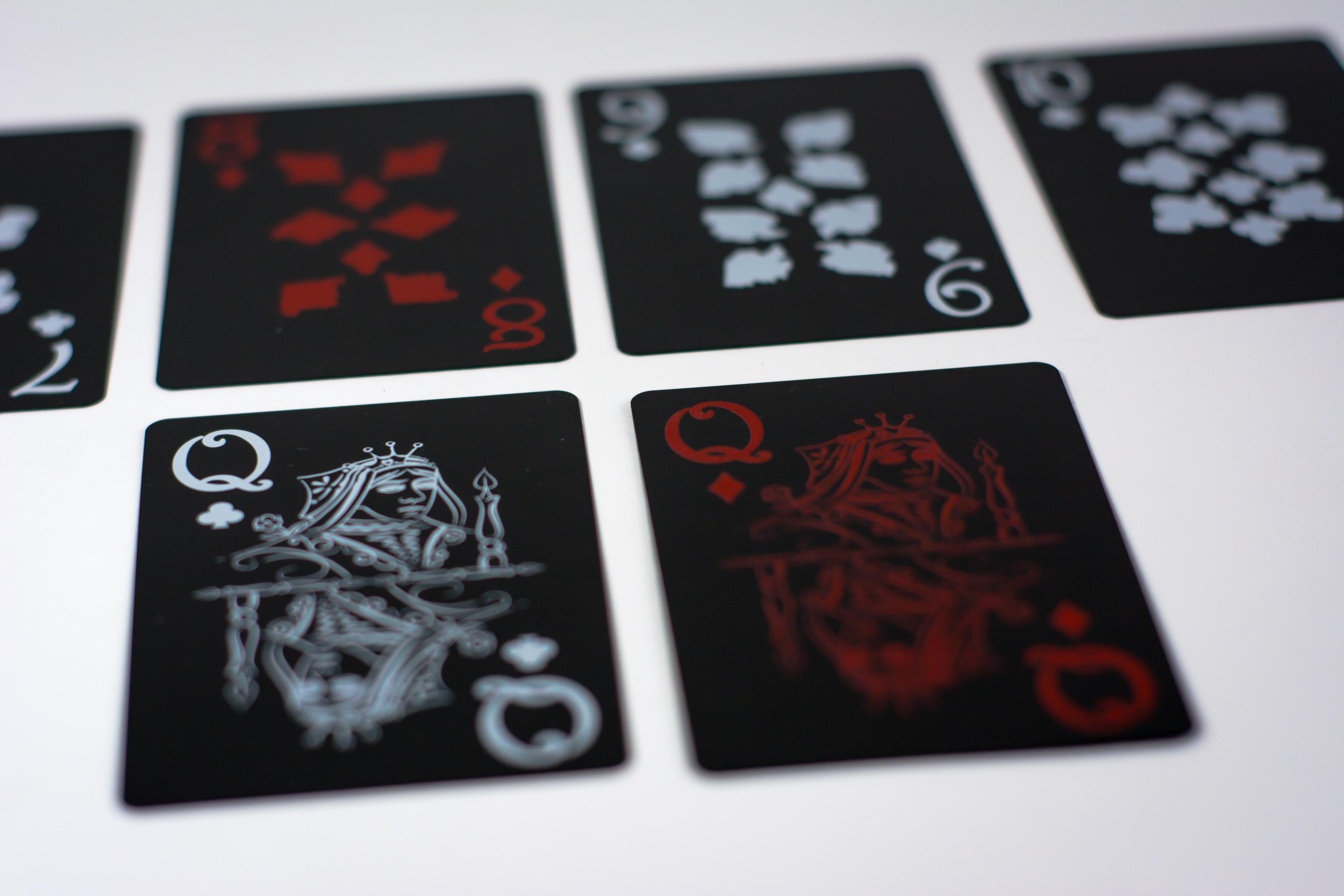 playing card illustration
