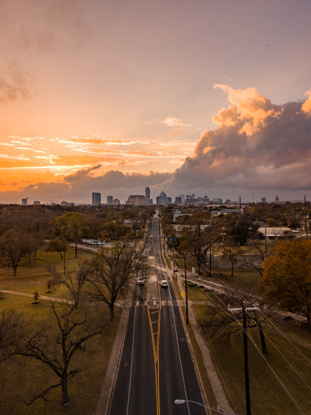 Took a sunset photo from east austin's skyline