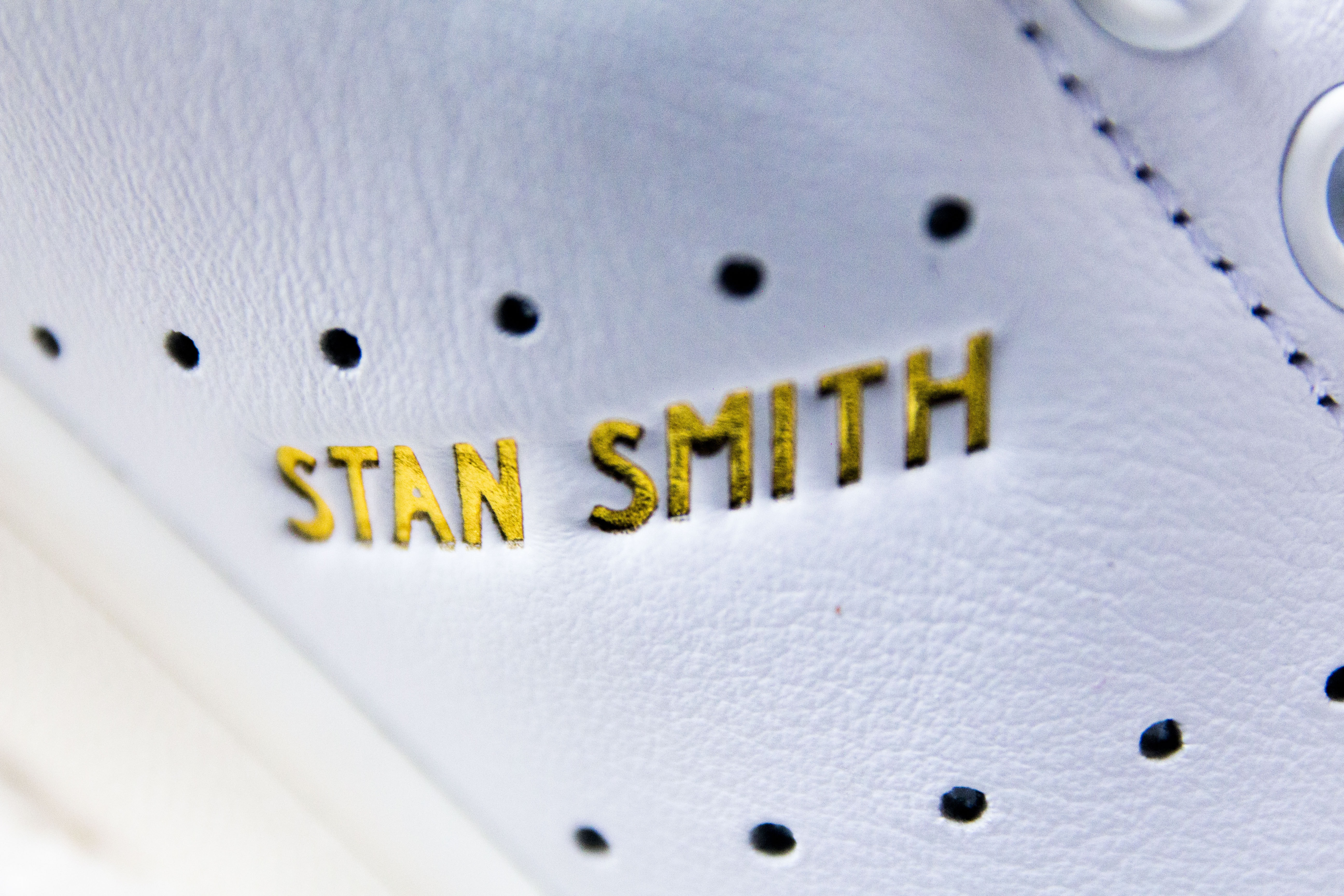 close up photo of adidas Stan Smith
