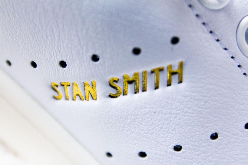 close up photo of adidas Stan Smith