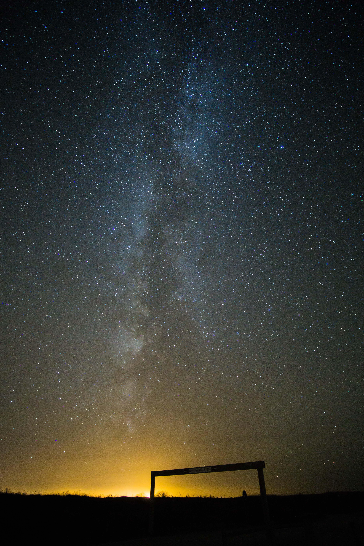 starry sky wallpaper