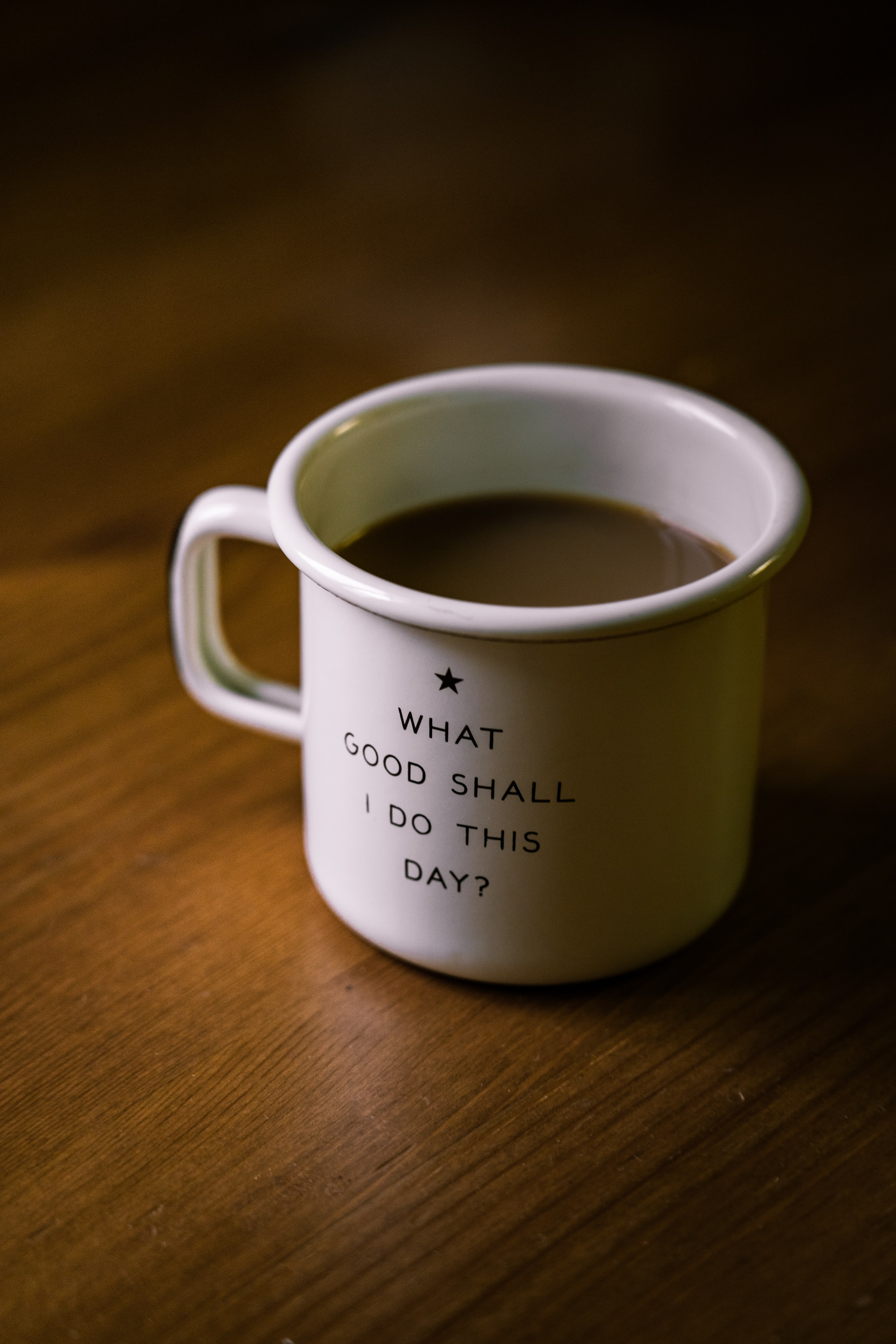 It's just the small things, but maybe it's all small things. This cup from Best Made is perhaps a good reminder of that.