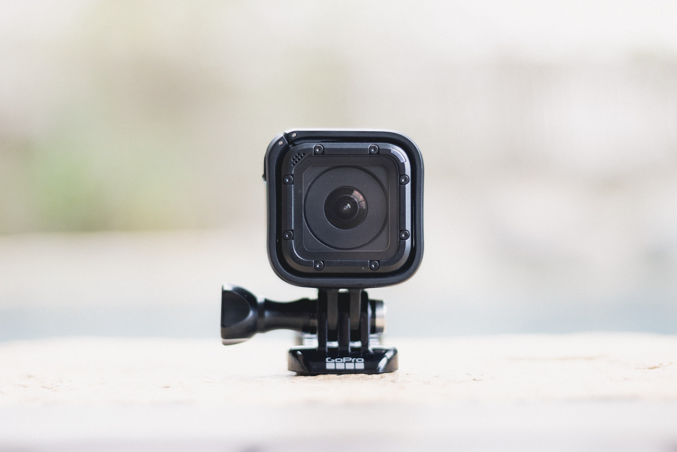 black GoPro Session