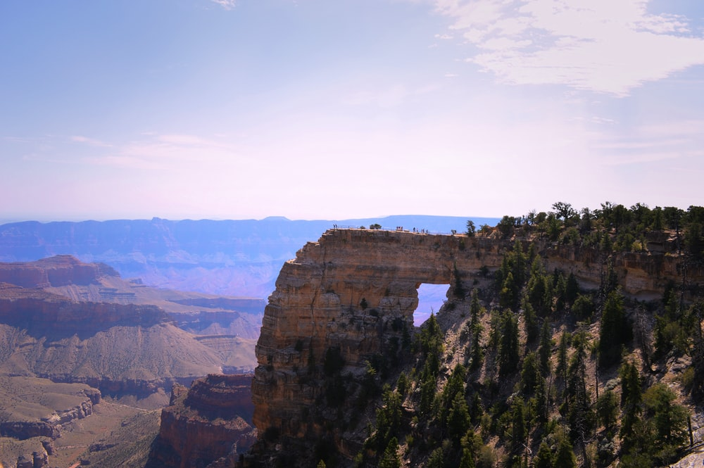 Arizona rock formation at daytime