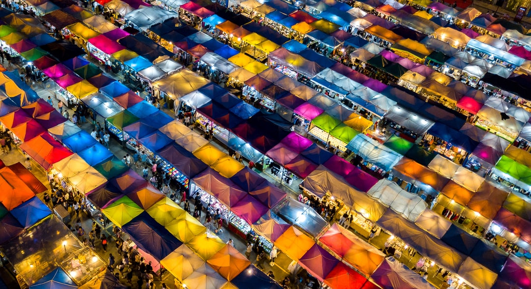 Rod Fai Night Market, Bangkok
