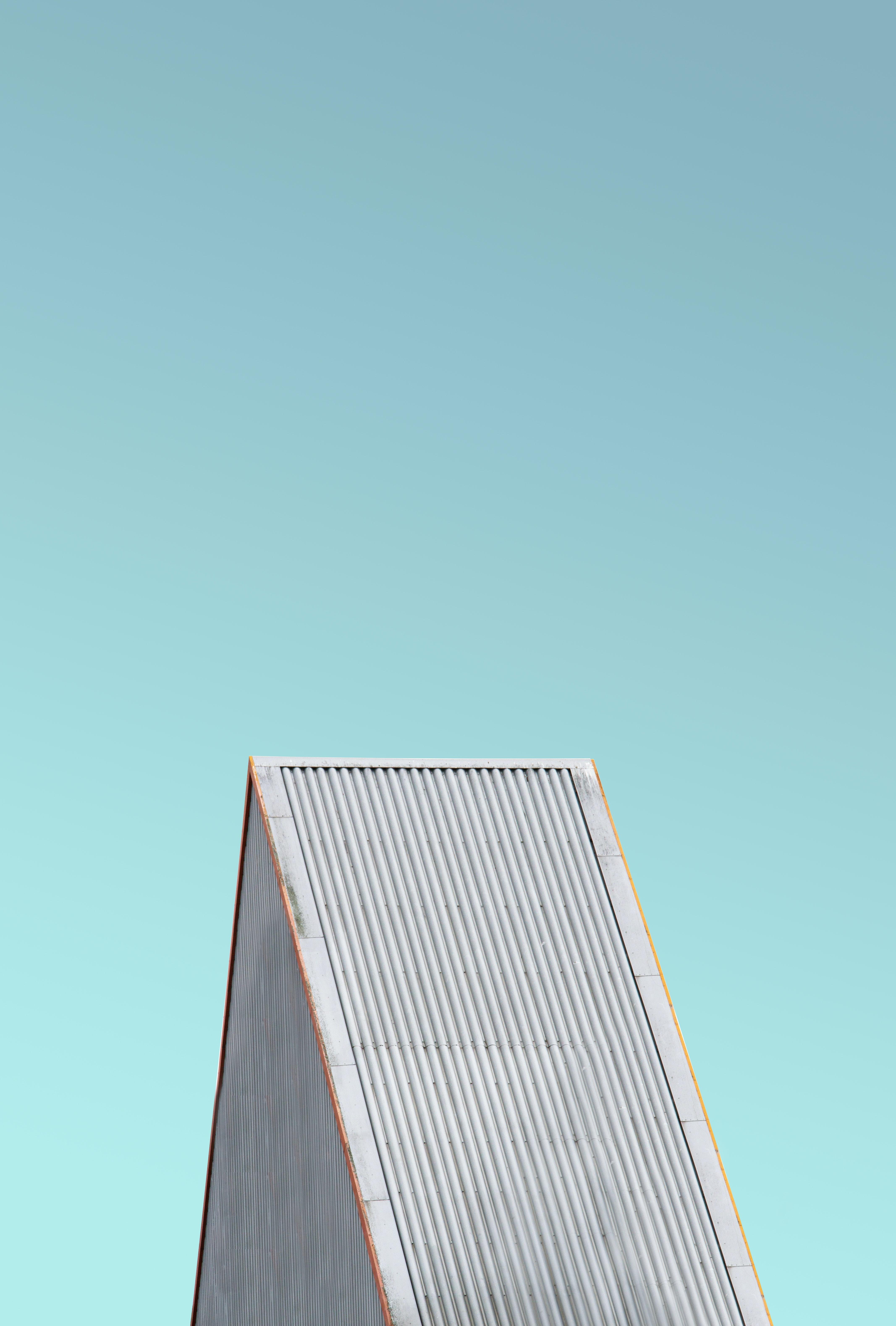 gray steel roof