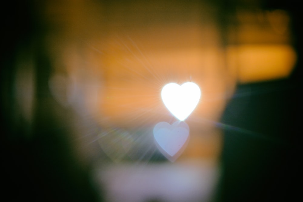 heart bokeh photo