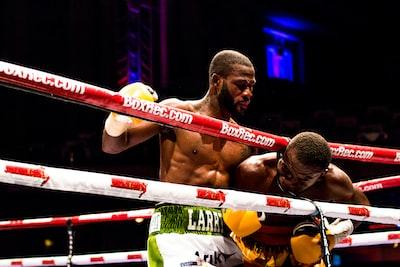 ボクシングの様子